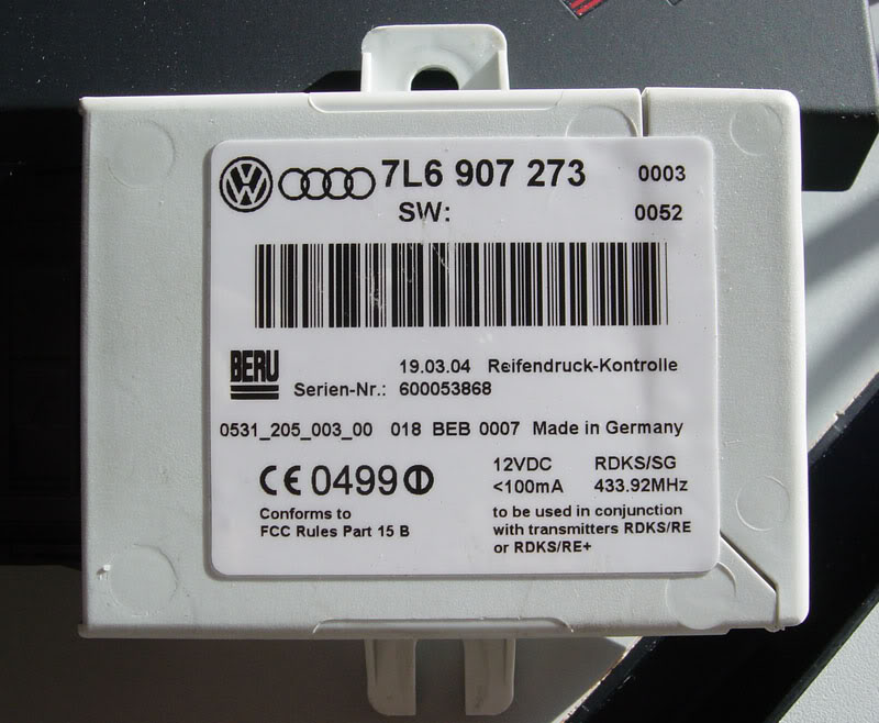 Touaregtpmscontroller on Tire Monitoring System Wiring Diagram