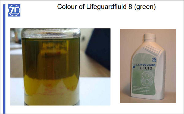 Lifeguard 8 is green fluid? - AudiWorld Forums