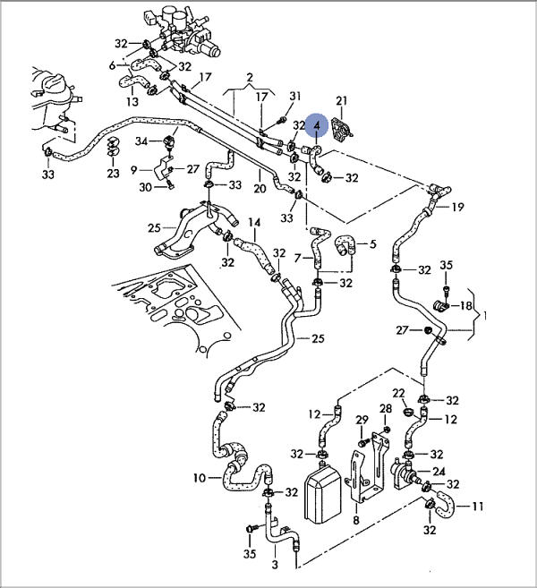 Vwvortex Com Chasing Coolant Leak
